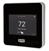 Wi-Fi Furnace and Air Conditioning Thermostat Control