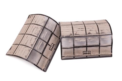 dirty HVAC filters
